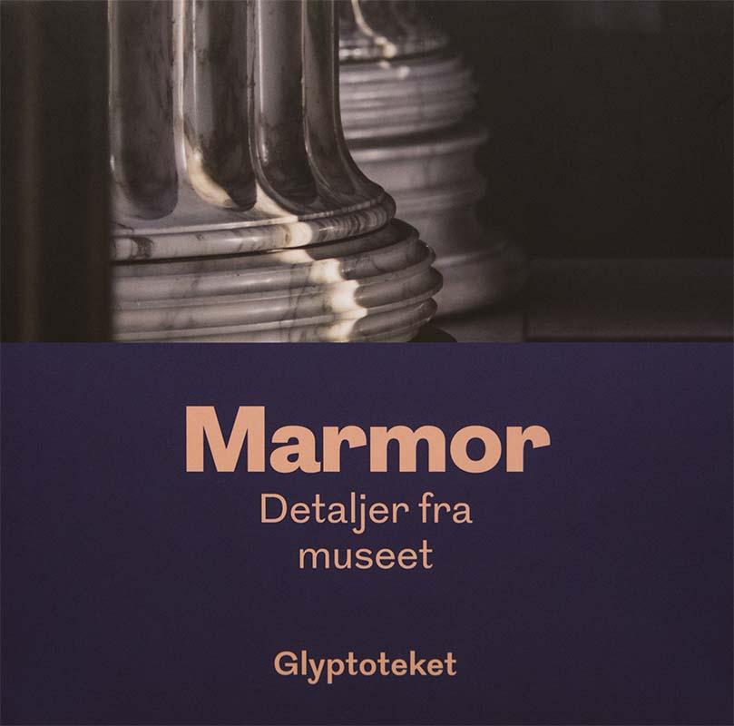Marmor postkort Glyptoteket