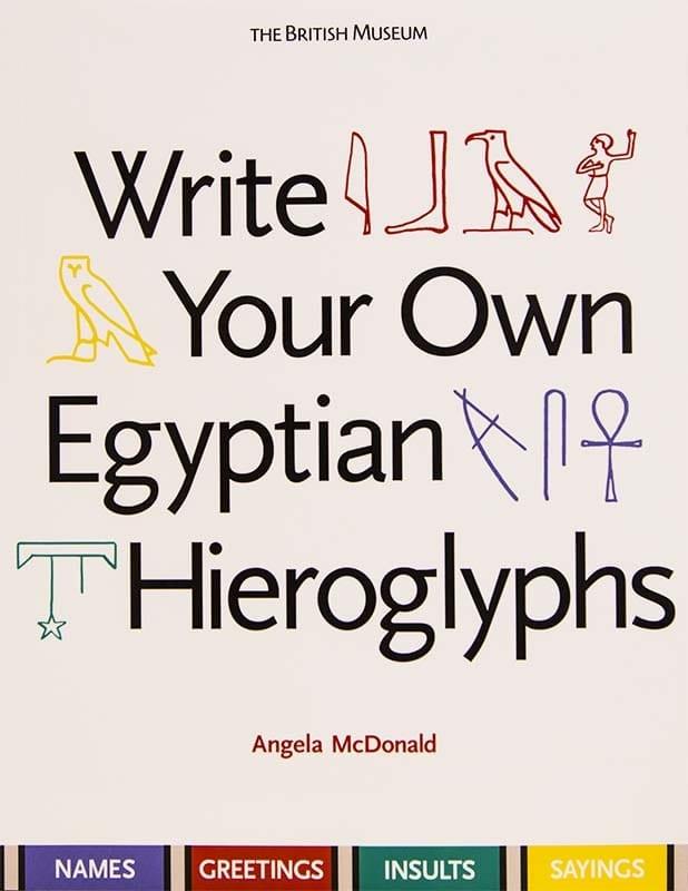 Write your own hieroglyphs