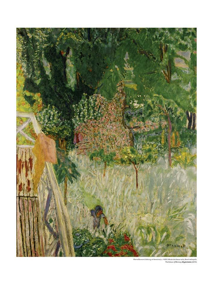 Pierre Bonnard plakat Balcony at Veronnet