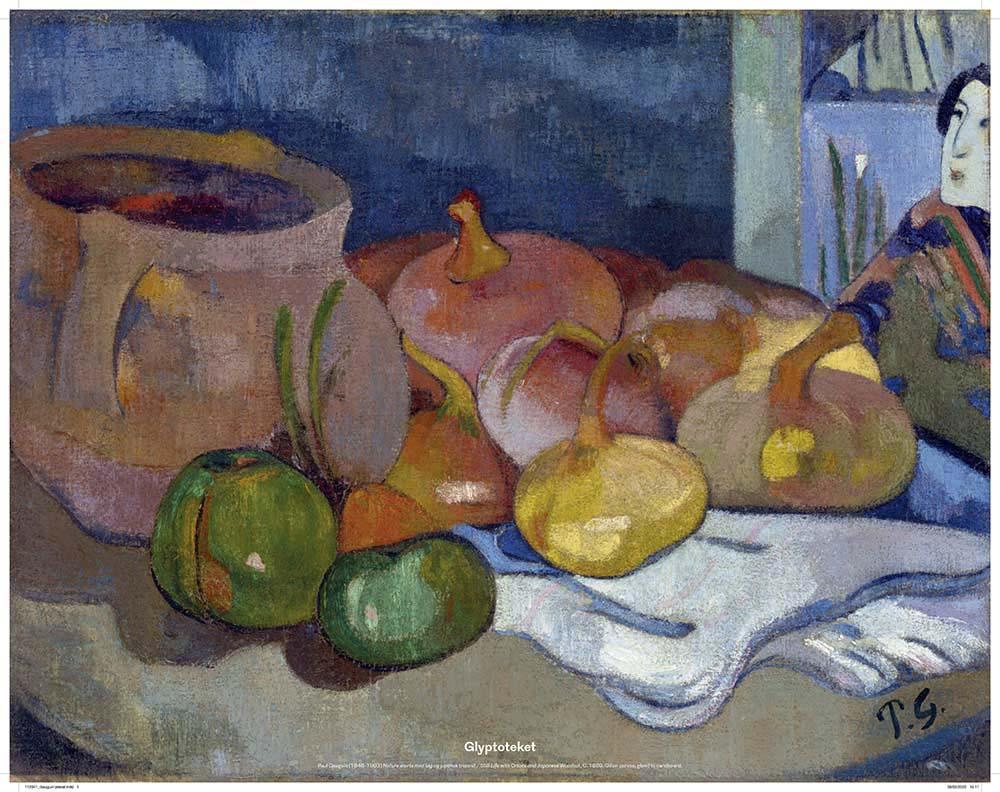 Paul Gauguin. Nature morte