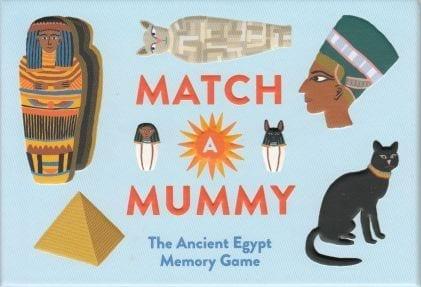 Match a Mummy huskespil Memory game